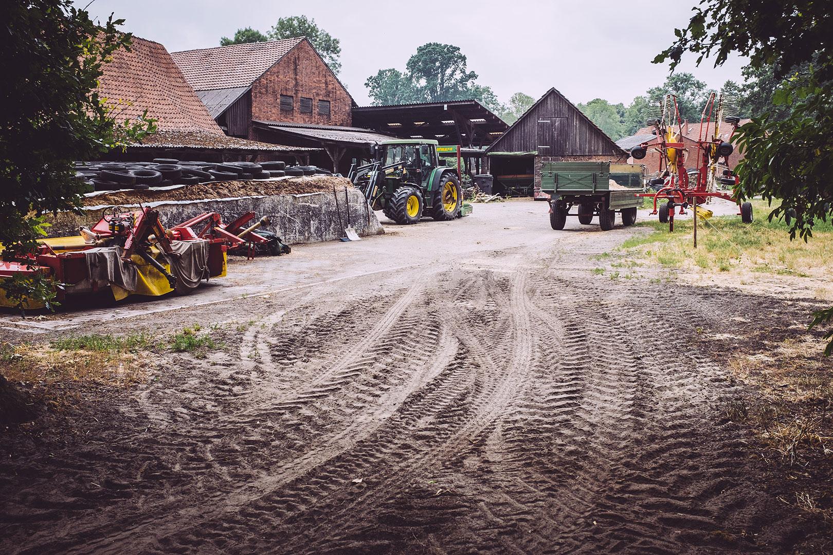 Landwirtschaftlicher Hof in Fischerhude (Verden, Niedersachsen)