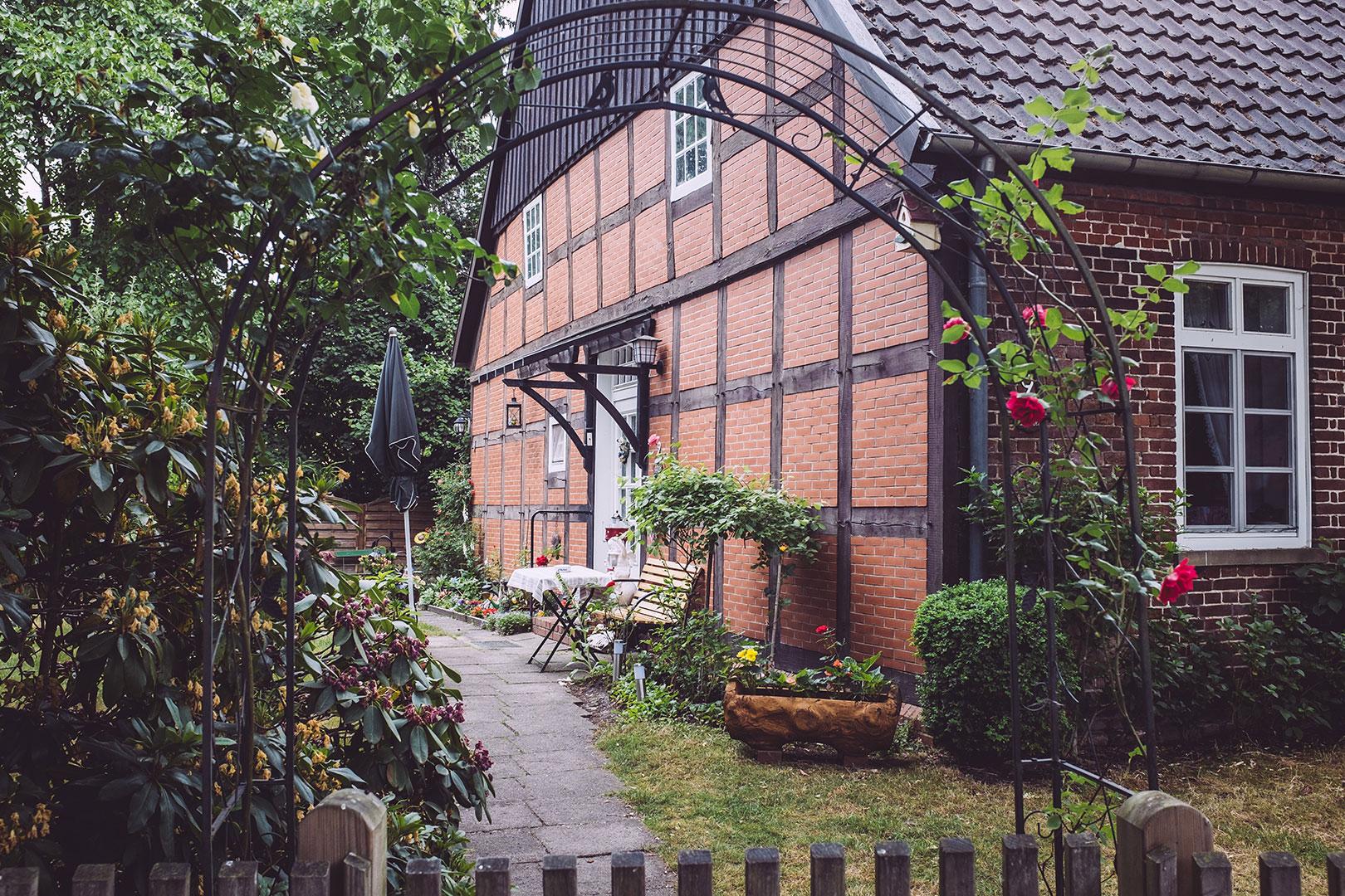 Fachwerkhaus in Fischerhude (Verden, Niedersachsen)