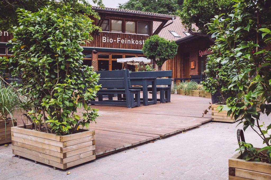 Bio-Feinkost-Laden in Fischerhude (Verden, Niedersachsen)