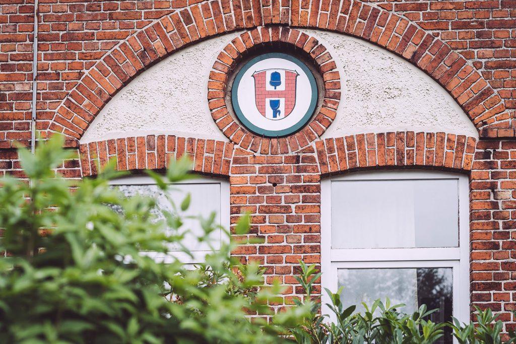 Giebel in Hassendorf (Sottrum, Niedersachsen)
