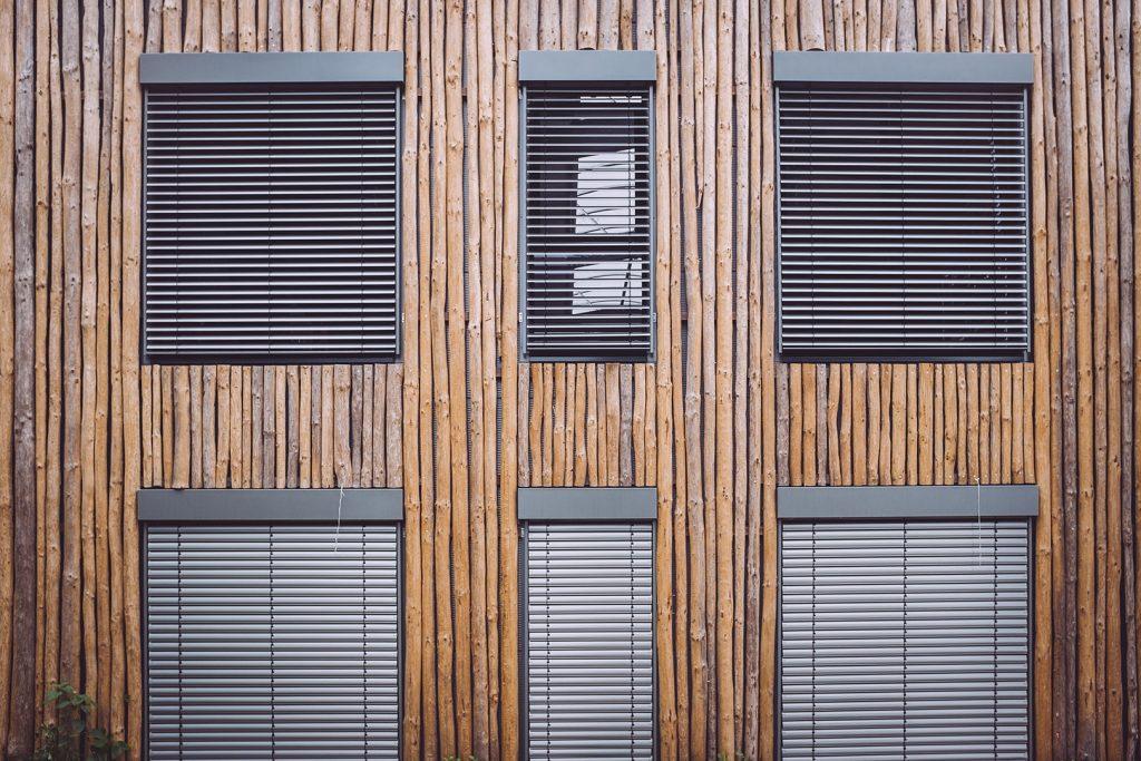Holzfassade in Stapel (Horstedt, Niedersachsen)