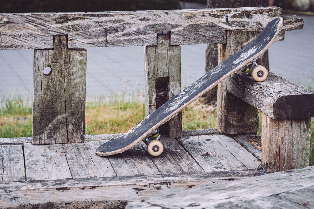 Spielplatz mit Skateboard in Stapel (Horstedt, Niedersachsen)