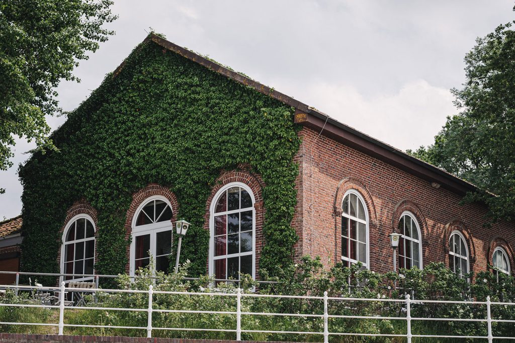 Altes Backsteinhaus in Dangast