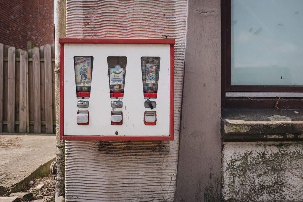 Kaugummiautomat in Blexen