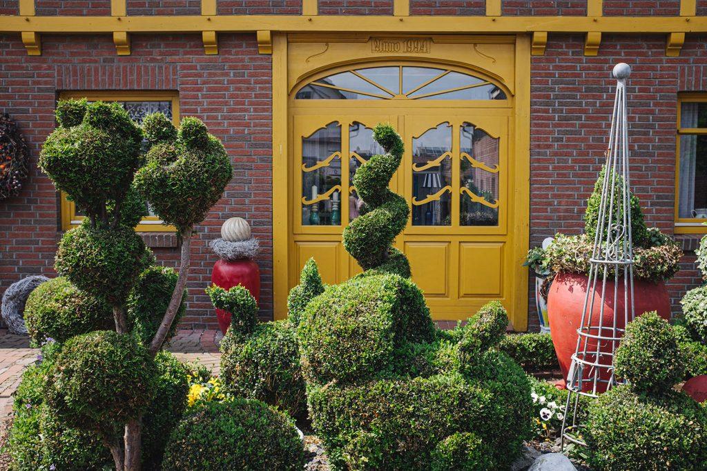 Vorgarten in Blexen
