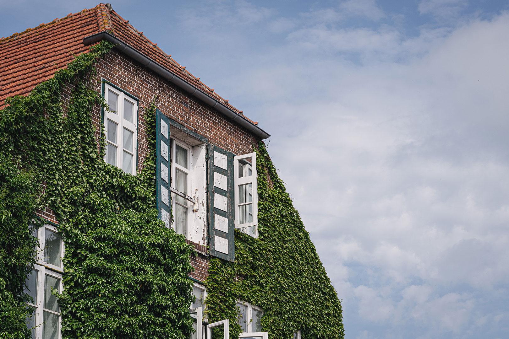 Backsteinhaus in Hooksiel