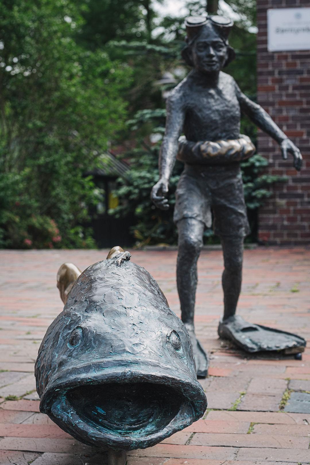 Statue in Hooksiel
