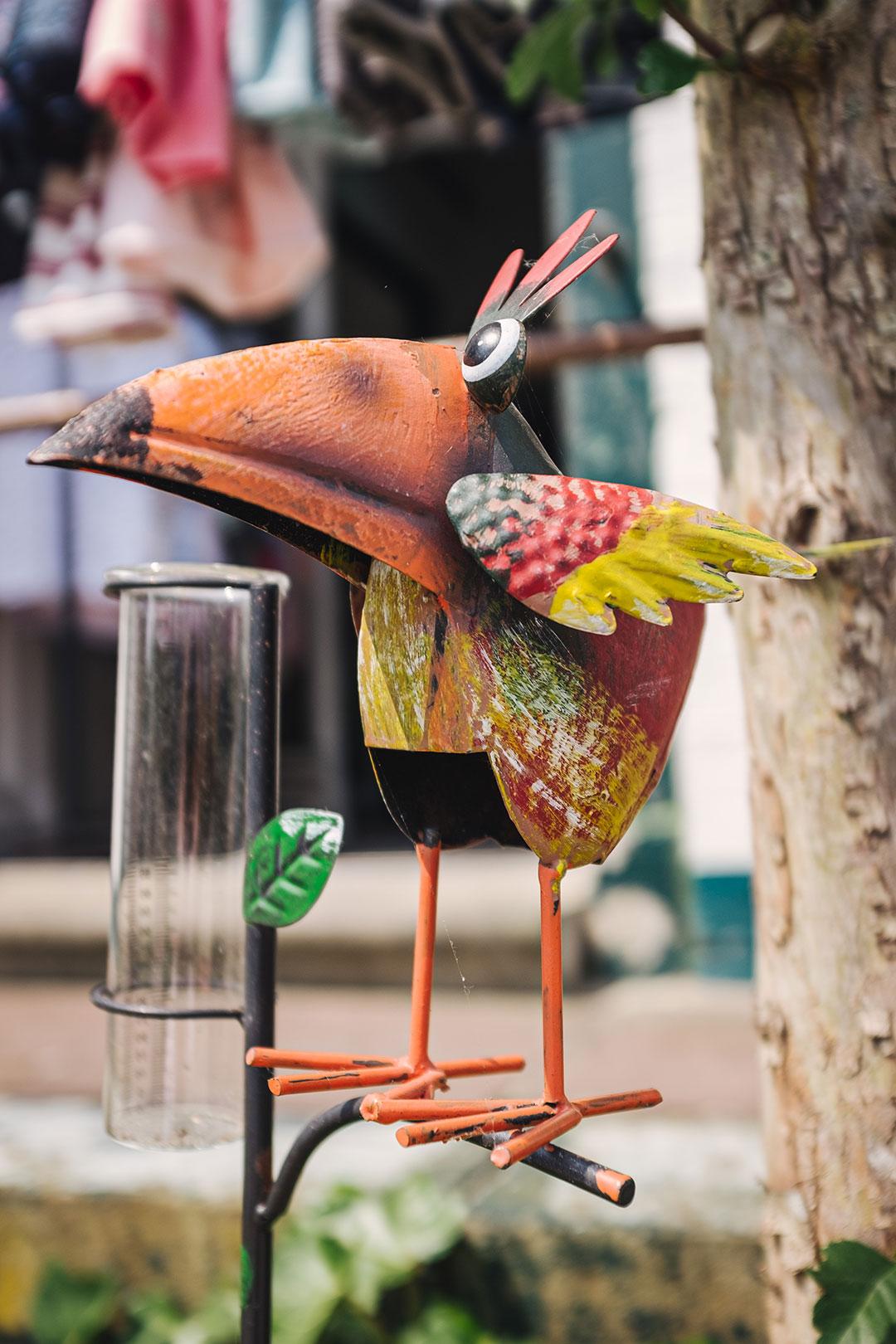 Blechvogel in Neuharlingersiel
