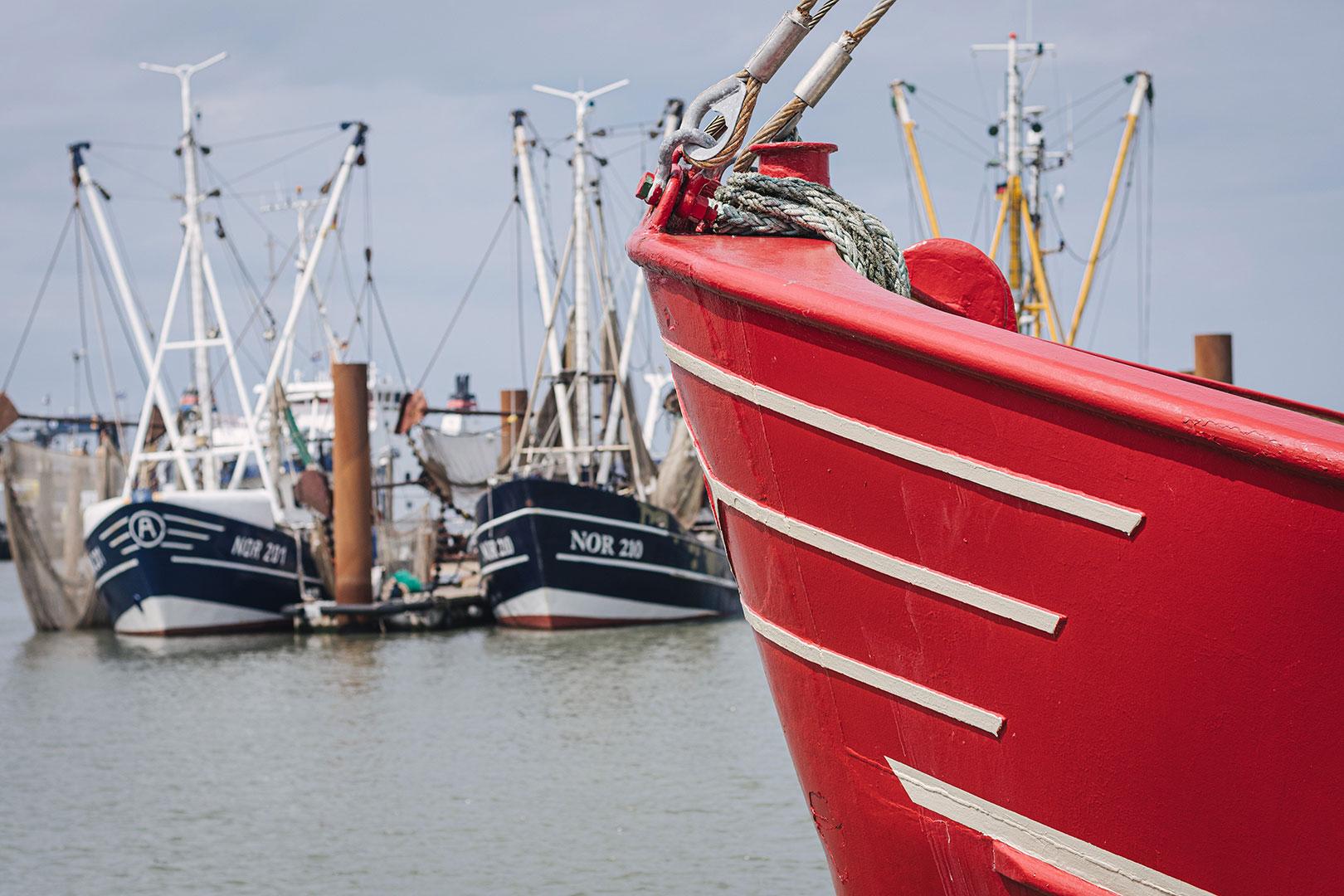 Schiff in Norddeich