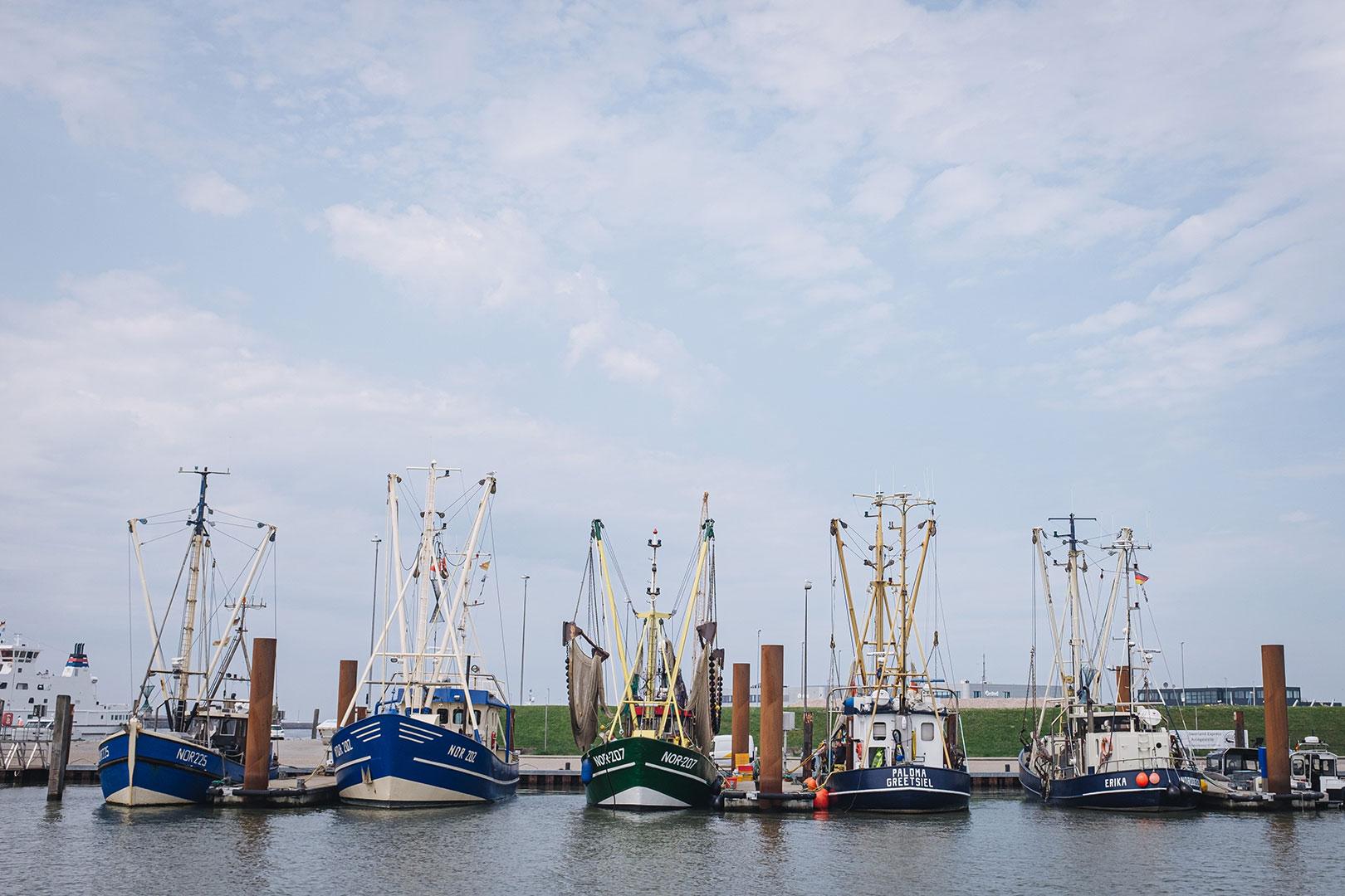 Fischkutter in Norddeich