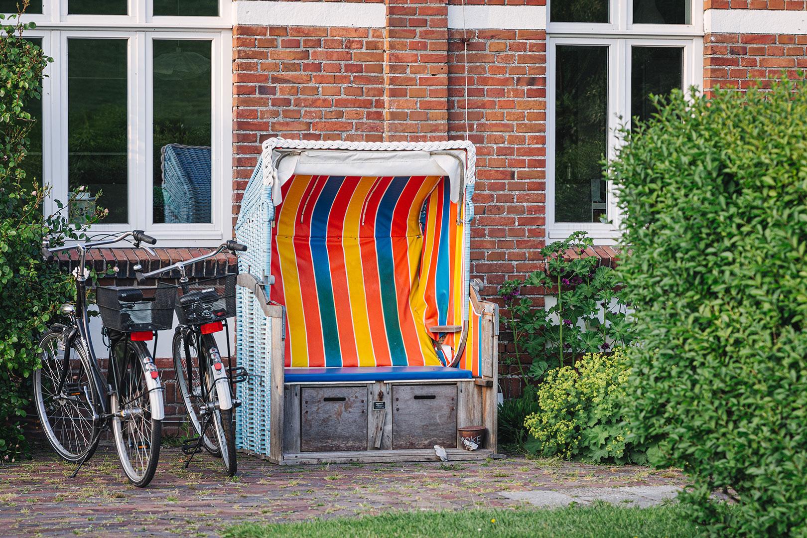 Strandkorb am Zollhaus in Utlandshörn