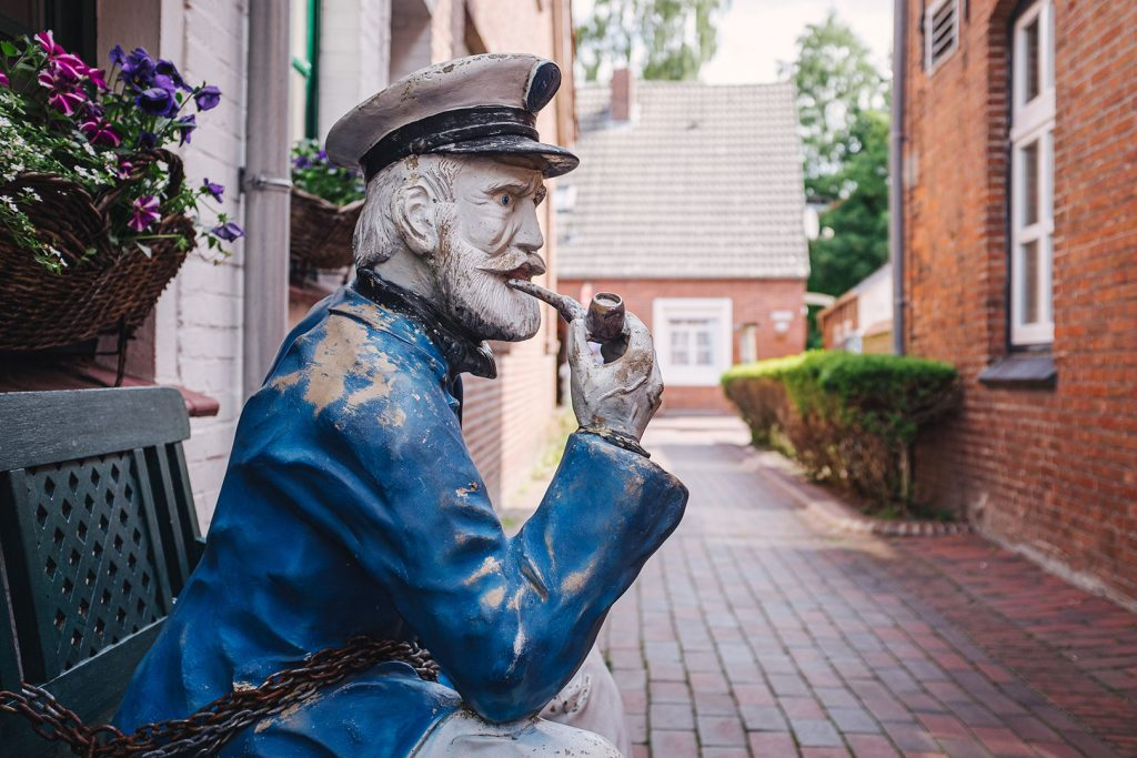 Figur in Greetsiel