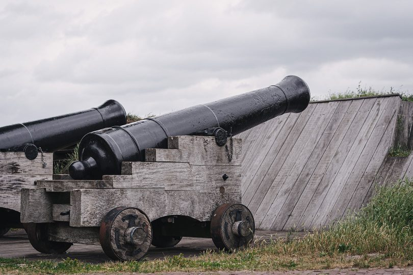 Kanone der Festung Bourtange
