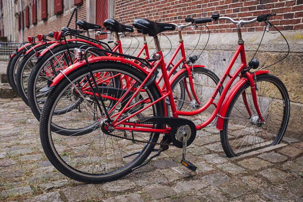 Fahrradstellplatz vorm Kloter Frenswegen