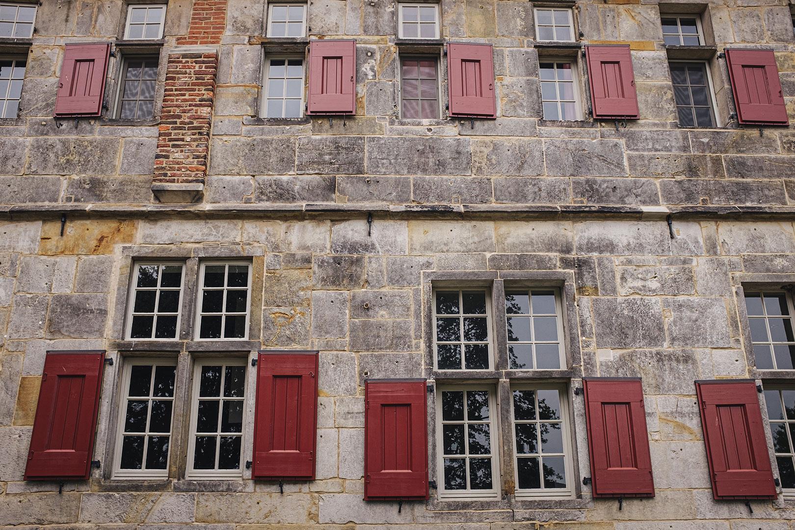 Fassade vom Kloter Frenswegen