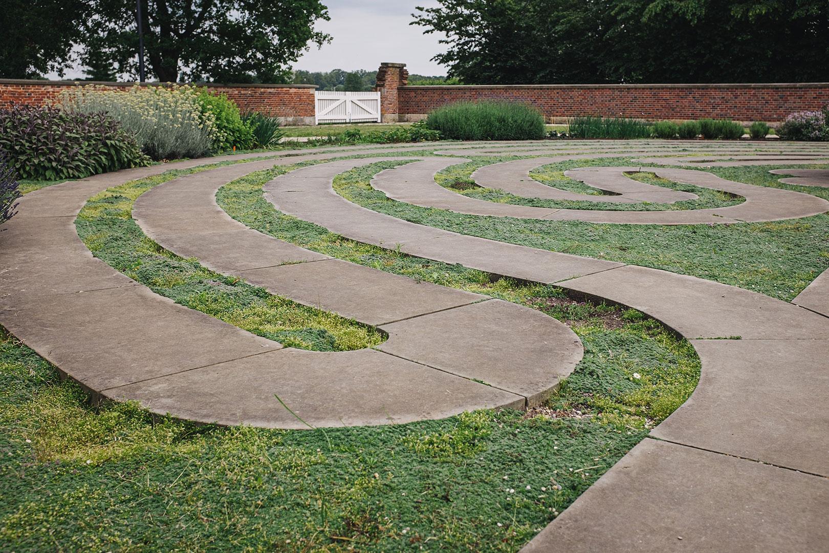 Labyrinth im Kloter Frenswegen