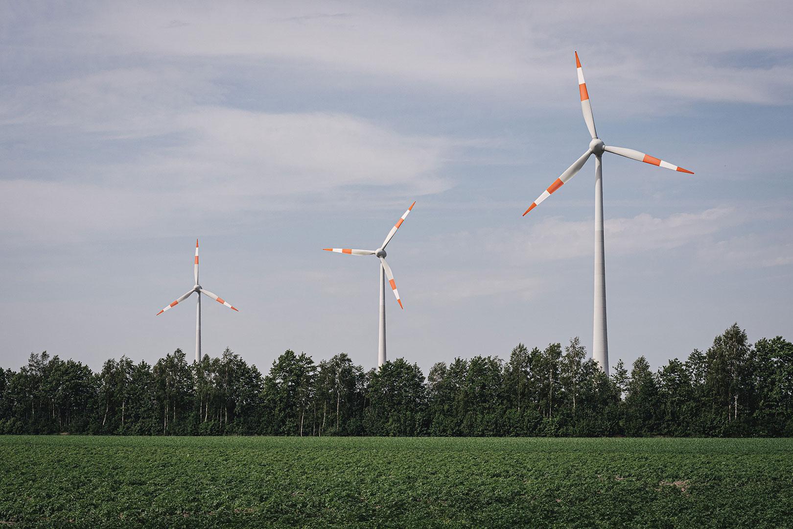 Windräder in Nieuw-Schoonebeek