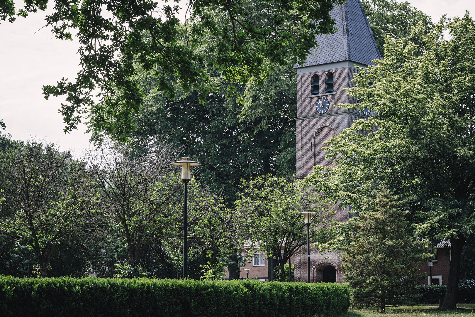 Kirchturm in Nieuw-Schoonebeek