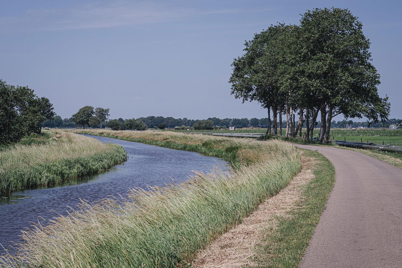 Weg in in Nieuw-Schoonebeek