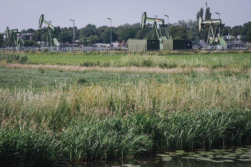 Ölförderung in Nieuw-Schoonebeek