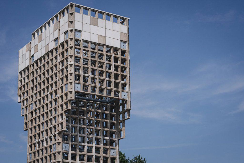 Aussichtsturm in Nieuw-Schoonebeek
