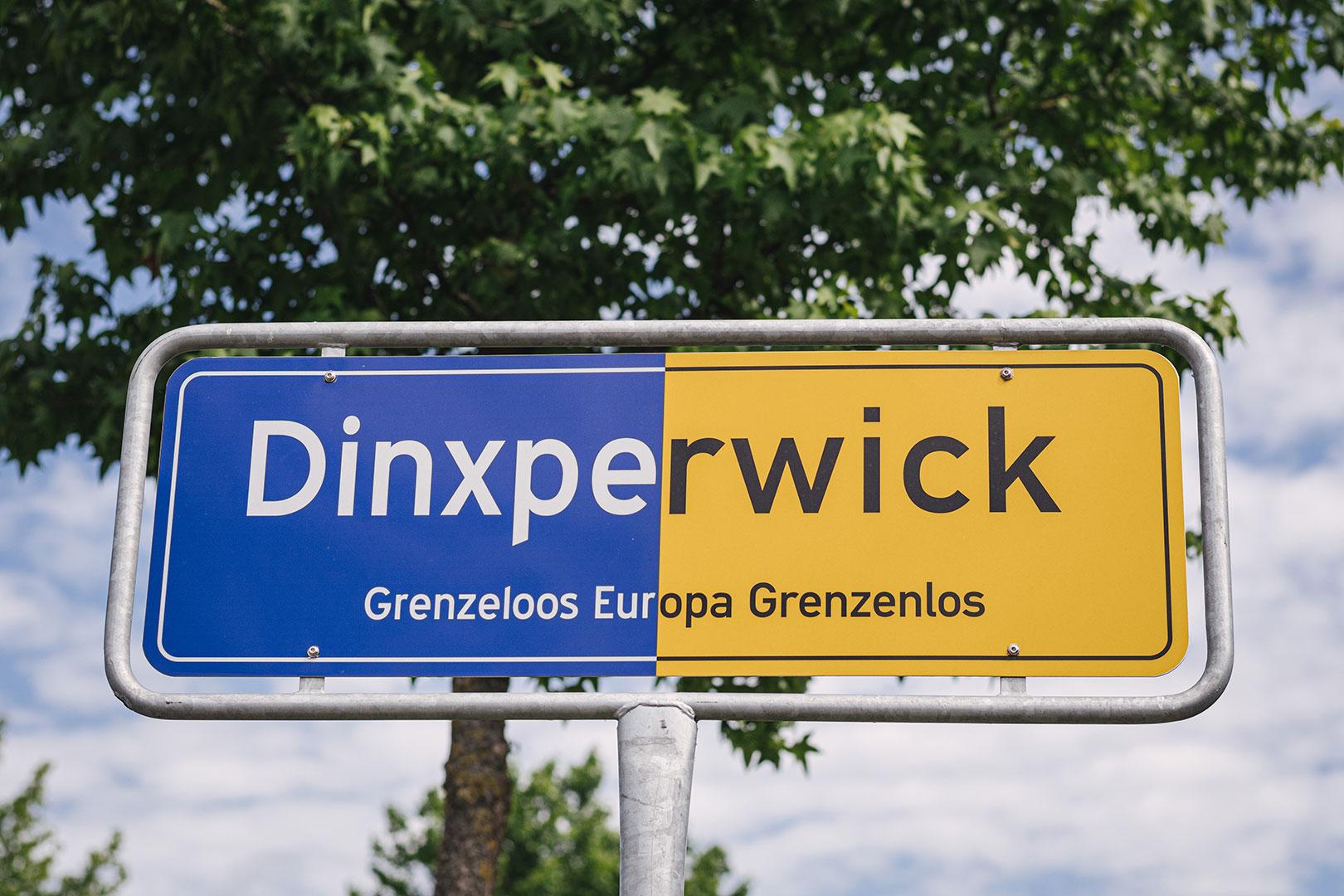 Ortsschild in Suderwick Dinxperlo
