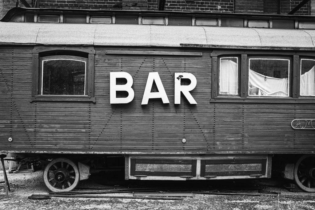 Bar-Wagen auf der Viller Mühle