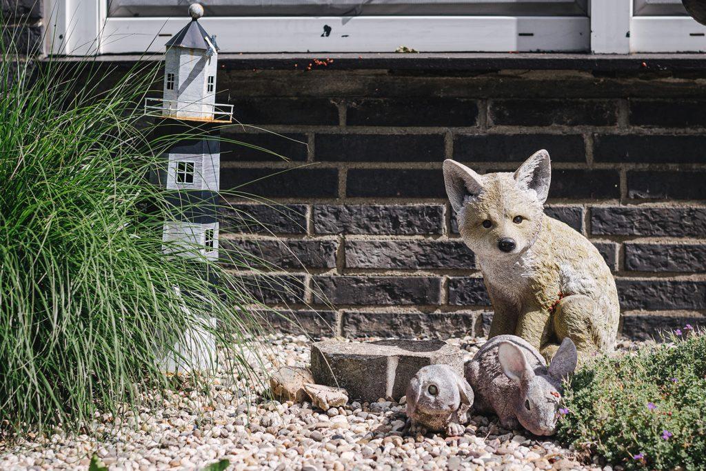 Gartendekoration Fuchs in Zyflich