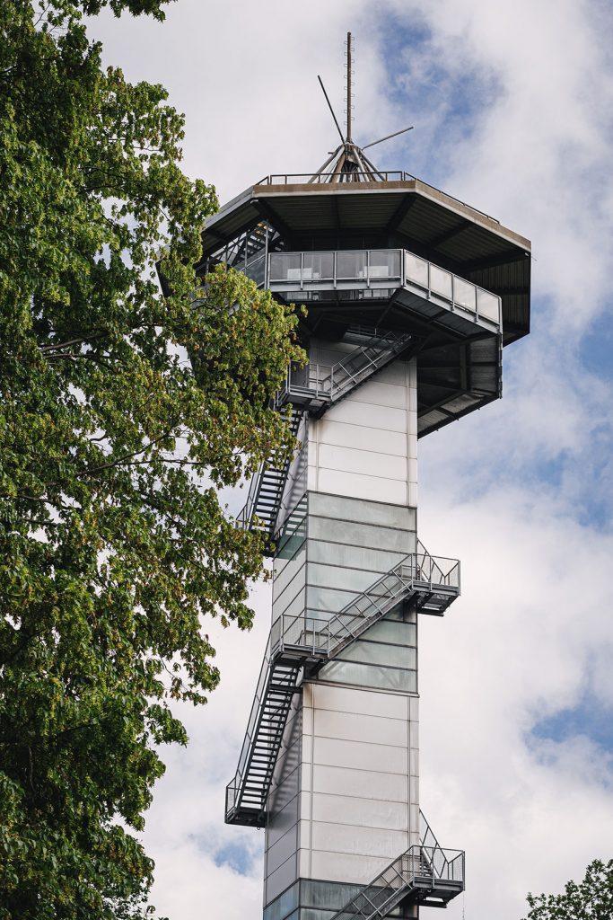 Aussichtsturm am Dreiländereck Deutschland-Niederlande-Belgien