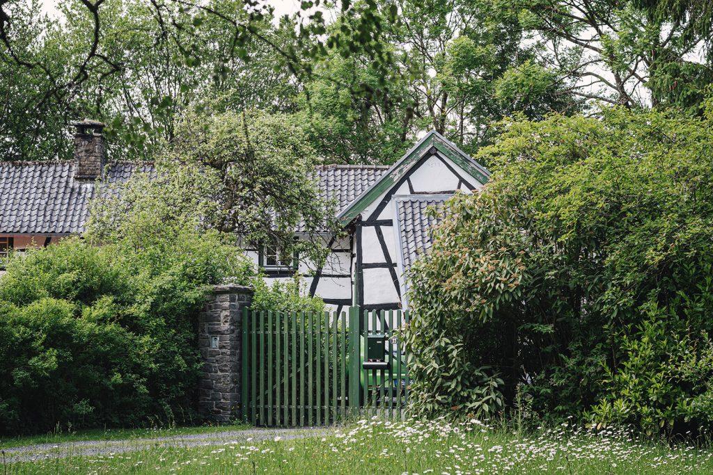 Haus auf kleinster Exklave Deutschlands