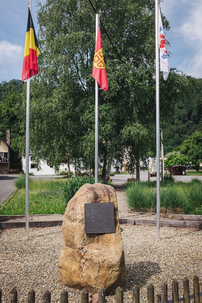 Europäischer Gedenkstein in Ouren