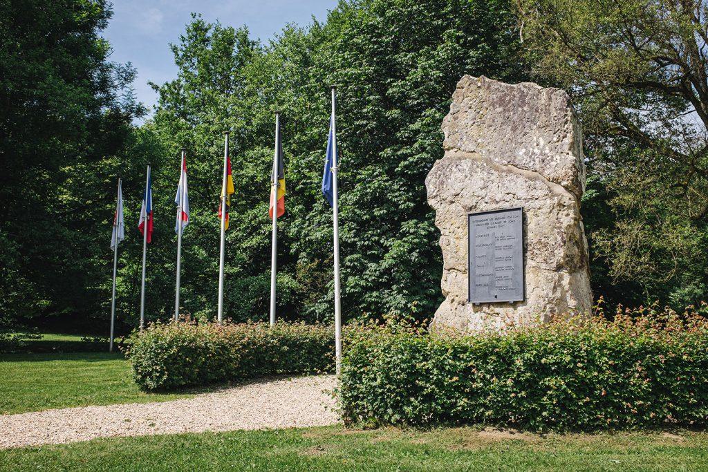 Europadenkmal am Dreiländereck Deutschland-Belgien-Luxemburg