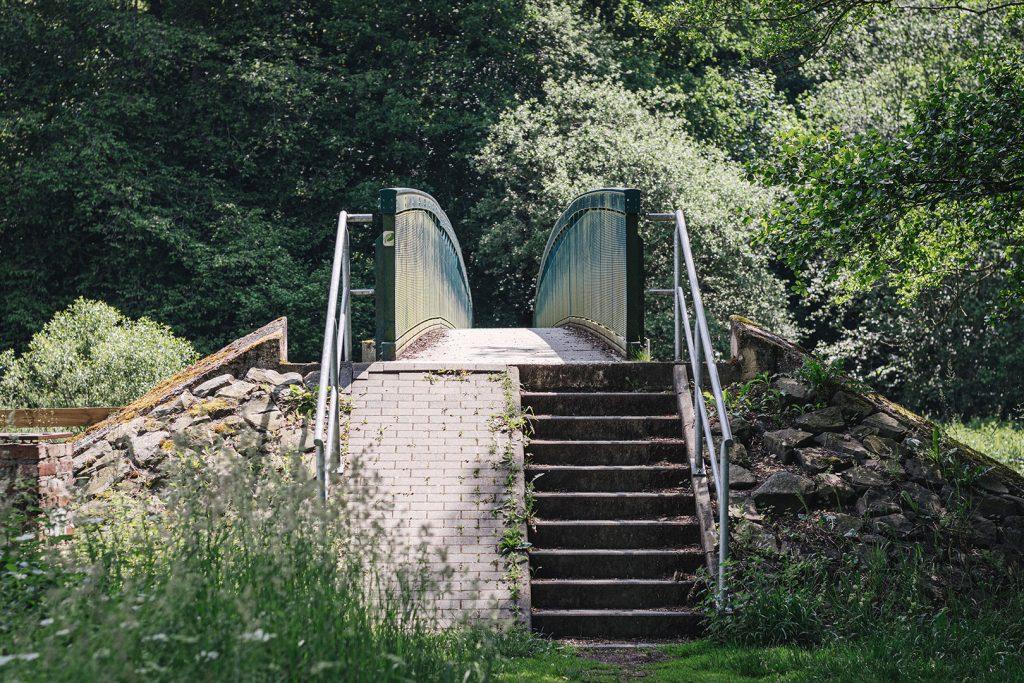 Brücke am Dreiländereck Deutschland-Belgien-Luxemburg