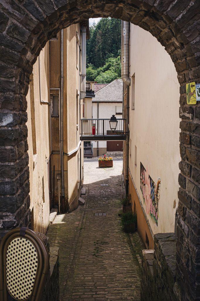 Gasse in Vianden