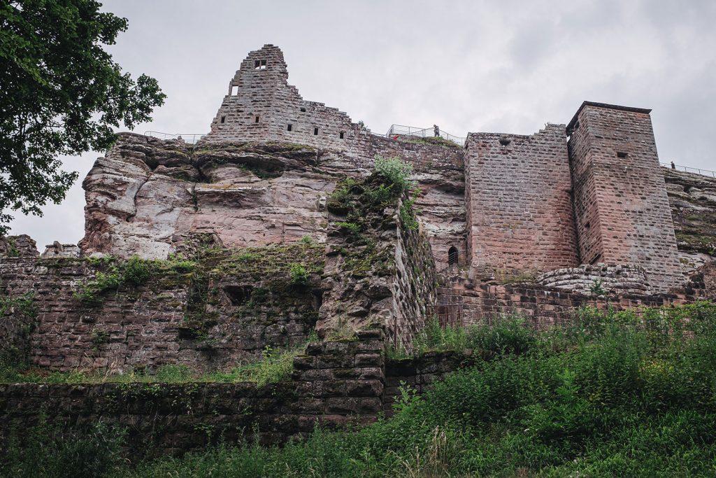 Kompaktansicht der Burg Fleckenstein