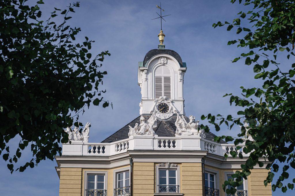 Teil des Schlosses in Karlsruhe