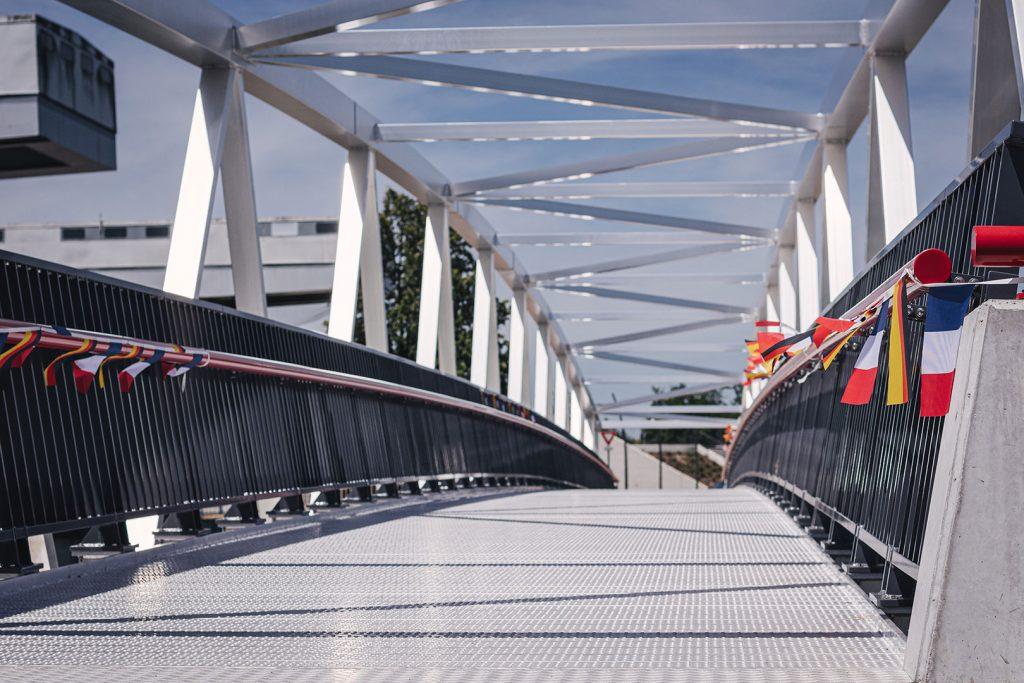Brücke an der Schleuse in Gambsheim