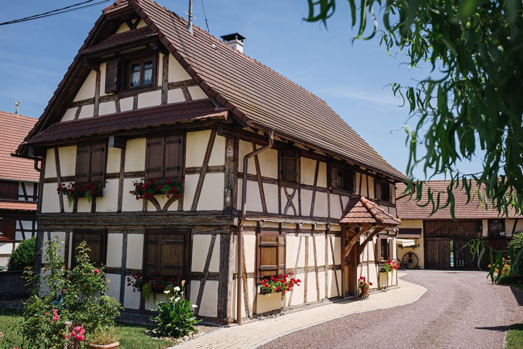 Fachwerkhaus in Gambsheim