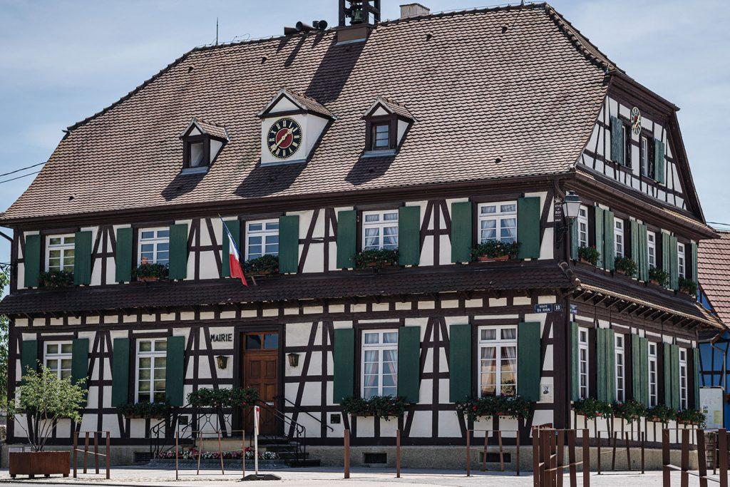 Fachwerkhaus Mairie in Gambsheim
