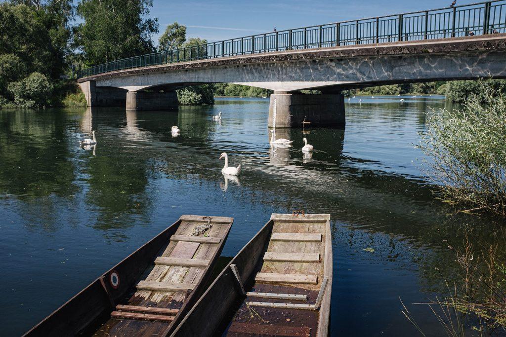 Brücke über die Saar in Munchhausen