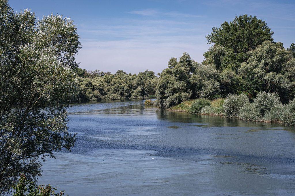 Fluss in Munchhausen
