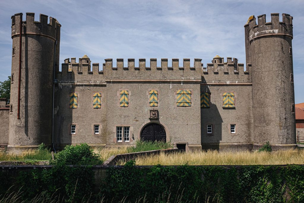 Burg in Hombourg