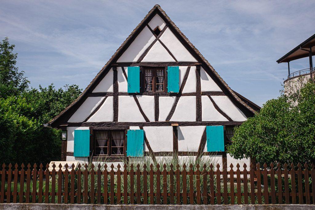 Fachwerkhaus in Hombourg
