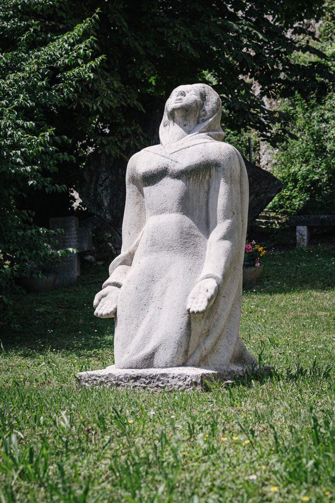 Skulptur am Isteiner Klotz