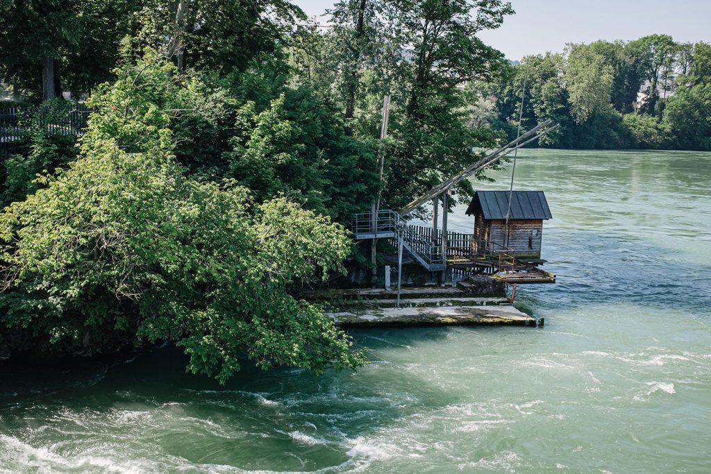 Der Rhein in Rheinfelden
