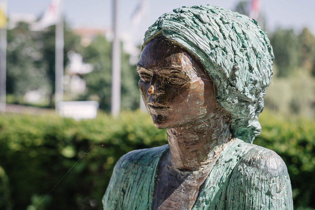 Skulptur in Rheinfelden