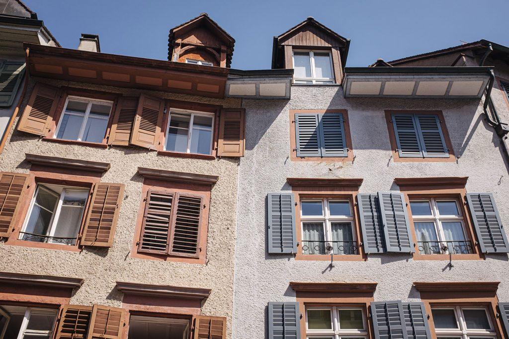 Häuser in Rheinfelden