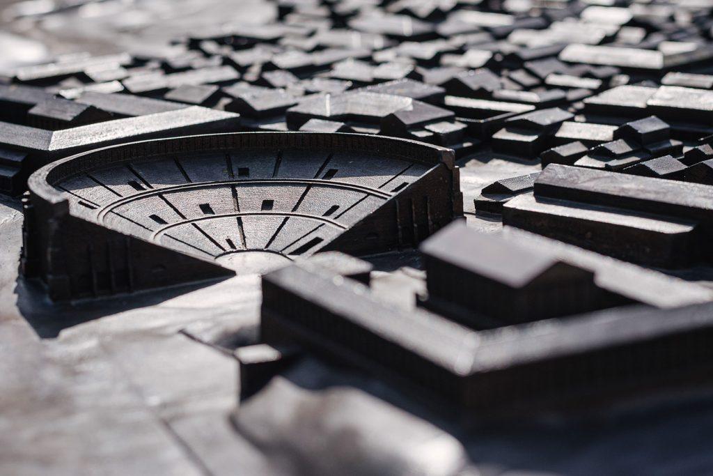 Römisches Theater in Augst als Miniatur