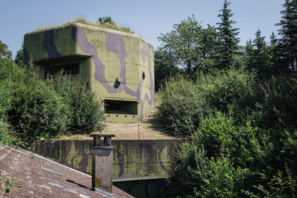 Militär-Bunker in Full-Reuenthal