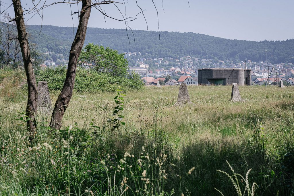 Militärgebiet in Full-Reuenthal